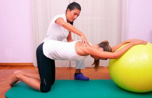 Fysioterapeut bookanaut træning