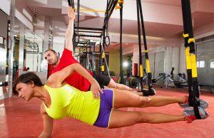 Fitness TRX træning københavn Bookanaut sport
