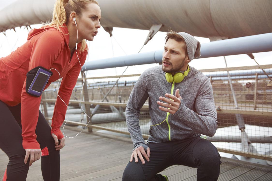 Løbetræning og Løbeblogs
