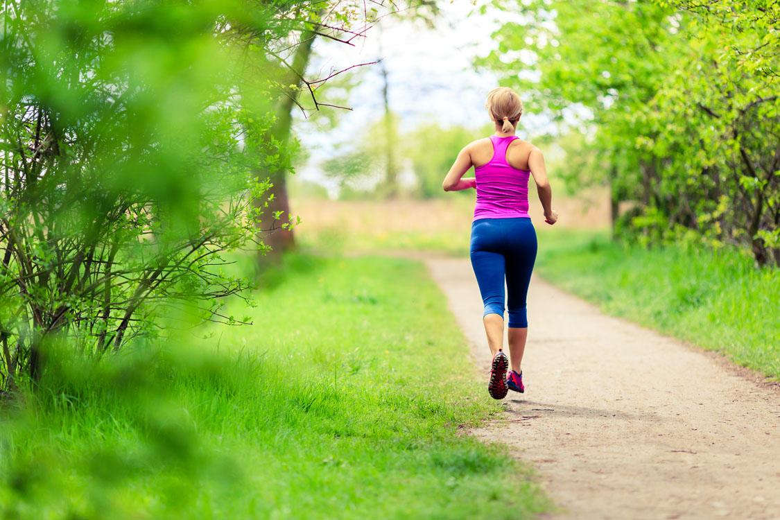 løb som behandling af hold i nakken