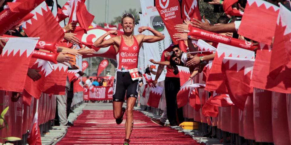 Triatlet Helle Frederiksen