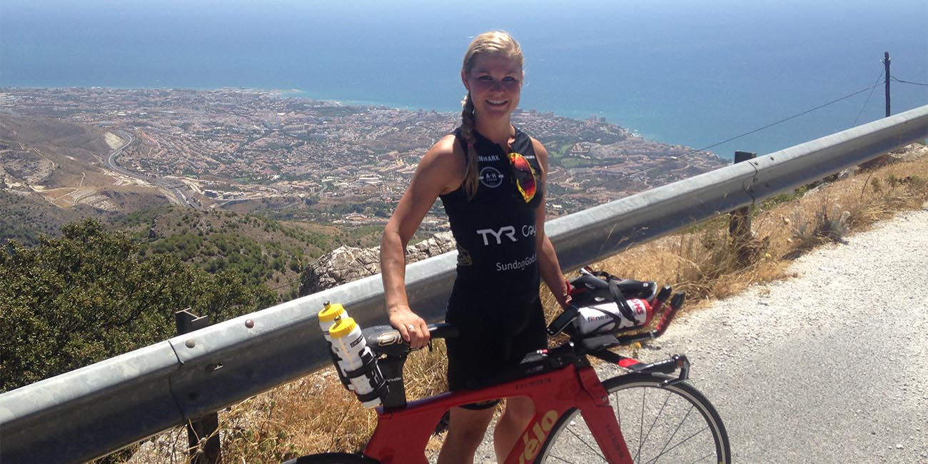 Triatlet Cecilie Mathorne