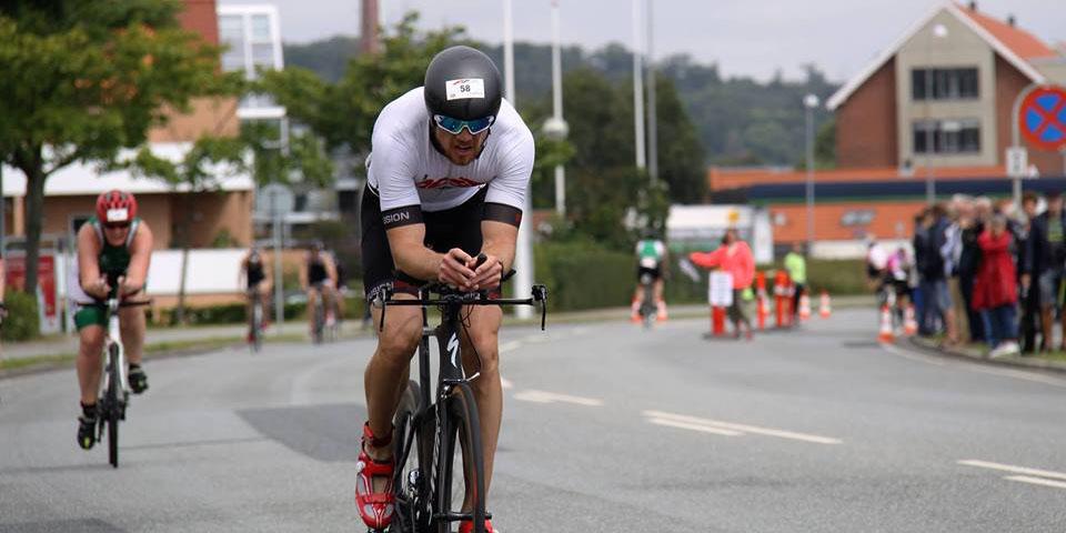 Triatlet Martin Bissenbacker Hansen
