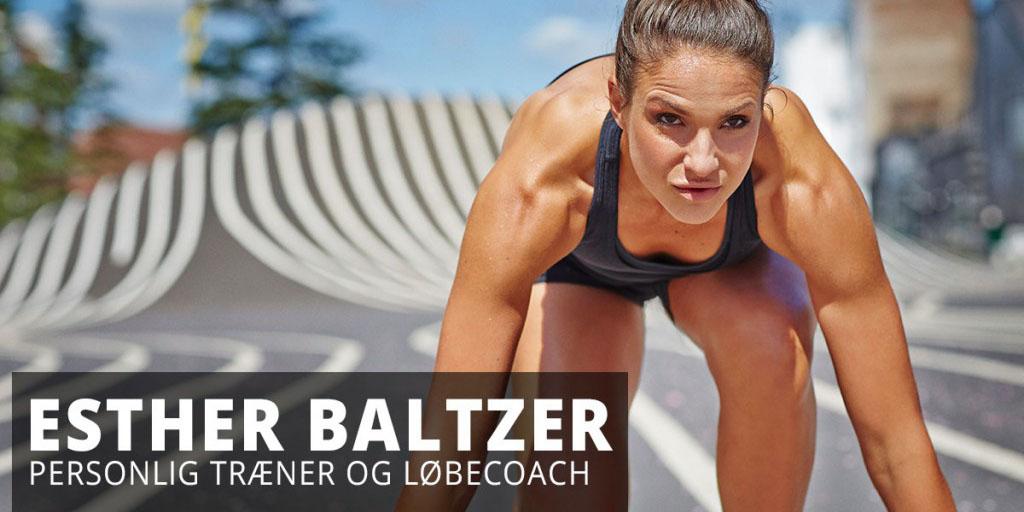 Esther Baltzer er en personlig træner
